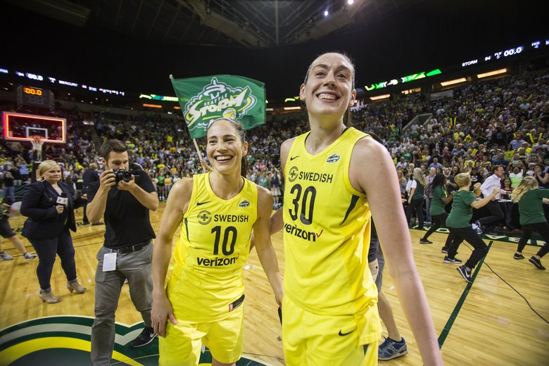 WNBA Championship runs through Breanna Stewart